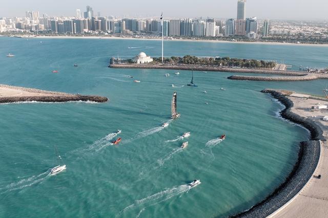 Abu Dhabi durante lo stopover 2012. Foto Todd
