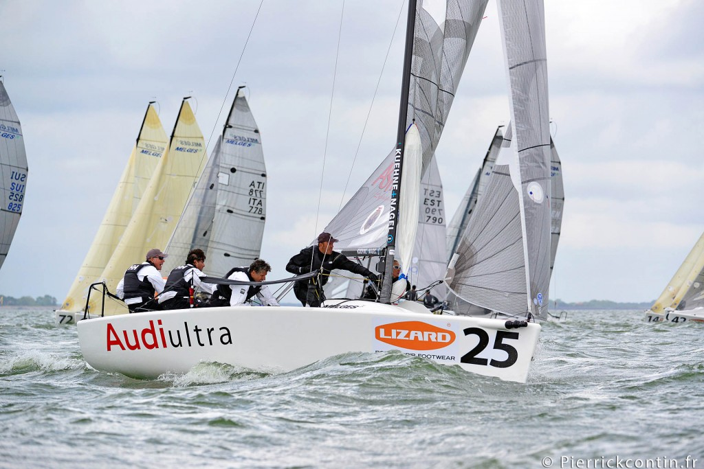 Audi Ultra in regata all'Europeo 2013