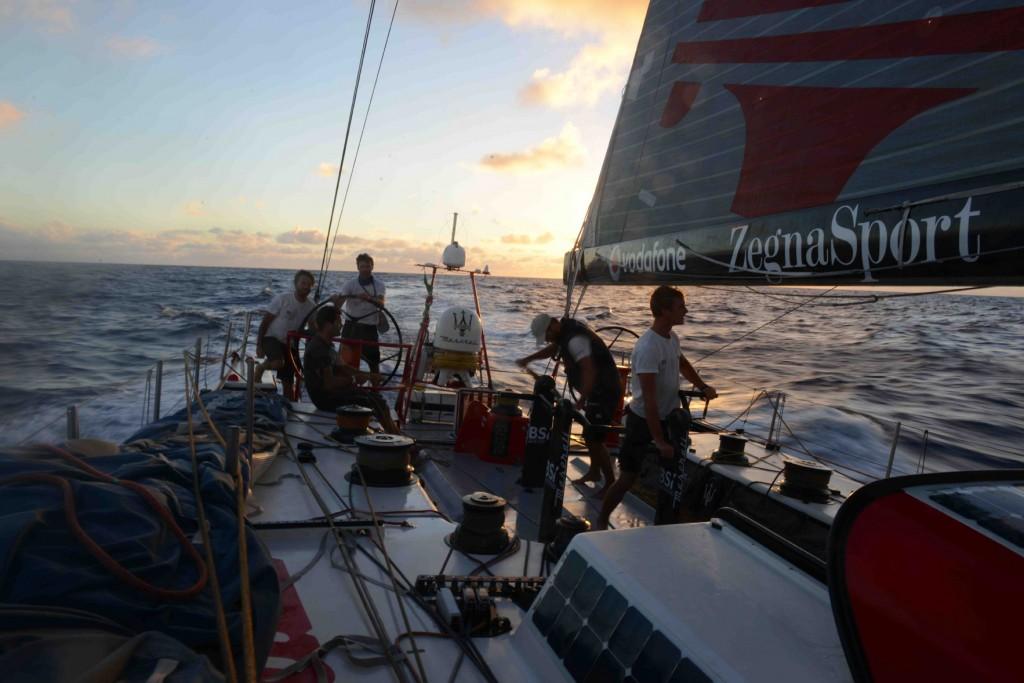 Maserati in navigazione verso il Brasile