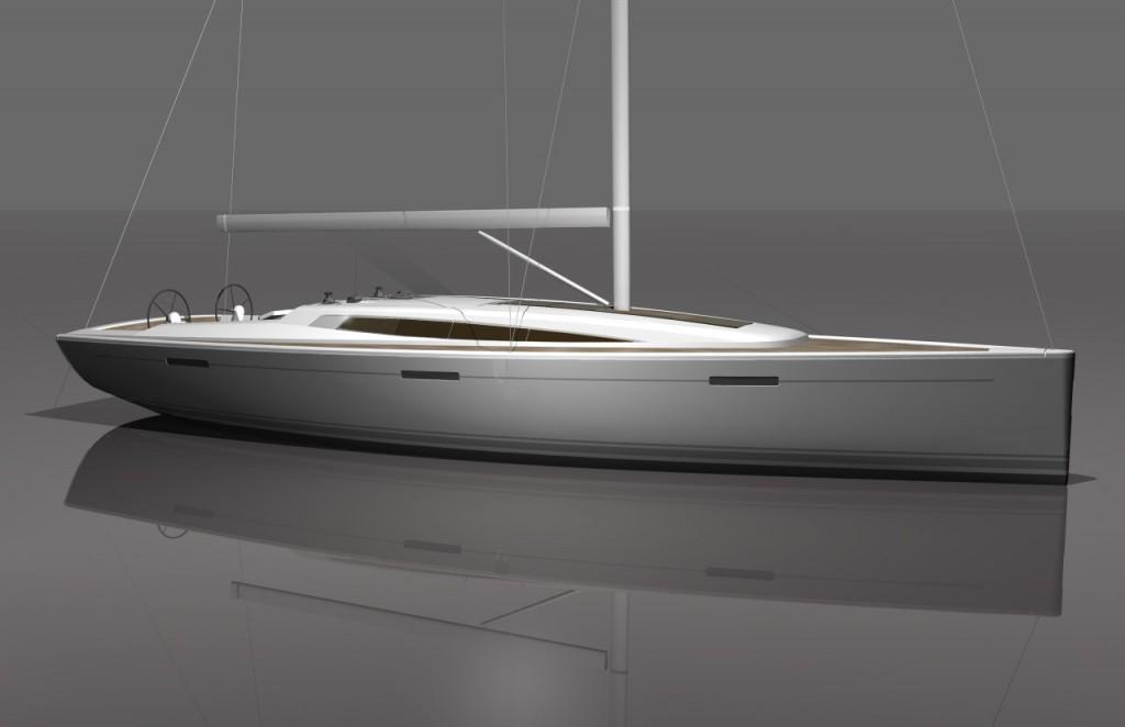 Il nuovo Dehler 46 sarà presentato al prossimo salone nautico a Düsseldorf, in programma dal 18 al 26 gennaio