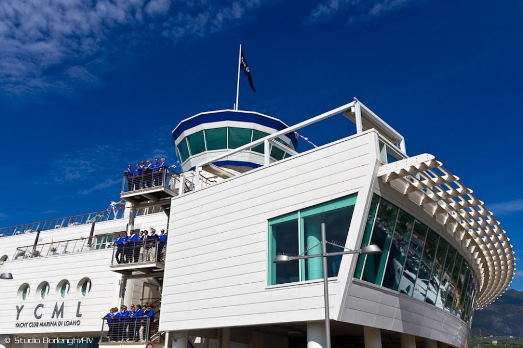 Lo Yacht Club Marina di Loano. Foto Borlenghi/FIV