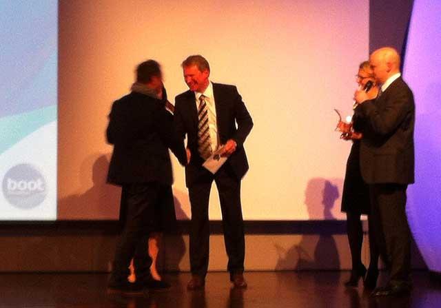 Il premio Family Cruiser all'Oceanis 38. Foto Maselli/FareVela