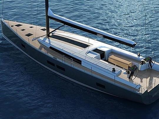 Il Salona 60, l'ammiraglia del cantiere croato disegnata da Jason Ker, debutterà al prossimo Boot