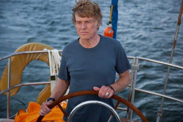 magistrale l'interpretazione di Robert redford, protagonista assoluto del film di Chandor