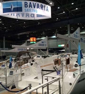 La linea Cruiser di Bavaria esposta allo scorso Boot