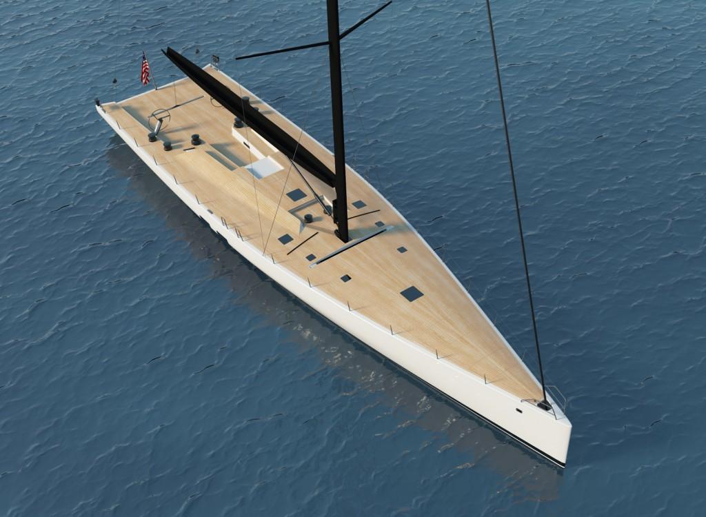 Il terzo scafo wallycento sarà consegnato all'armatore americano a giugno del 2015. Regaterà soprattutto in Mediterraneo