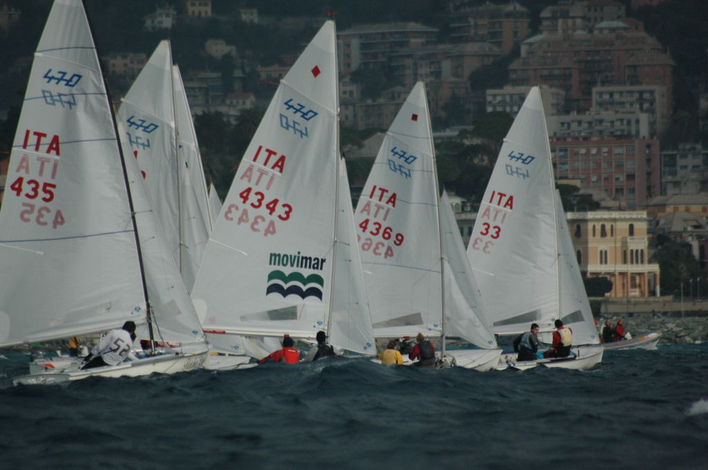 470 in regata a Genova