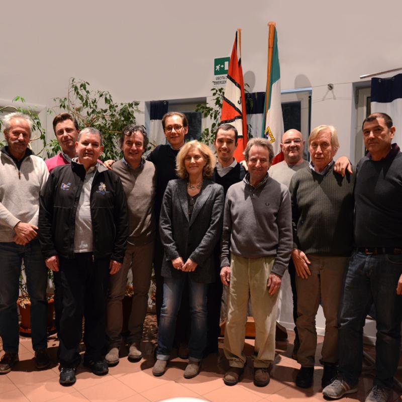 Gialuz con il nuovo consiglio direttivo della SVBG
