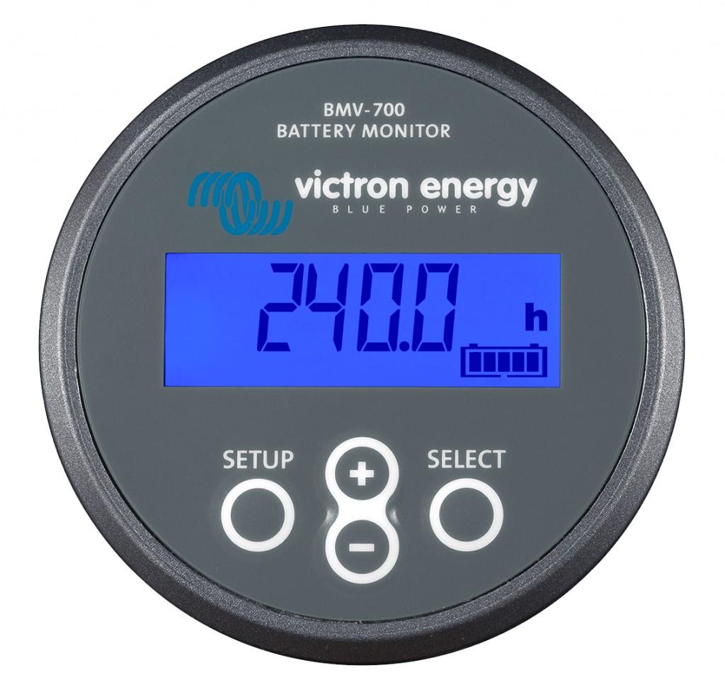 La serie BMV-700 della Victron Energy sono modelli di battery monitor per barche e automobili