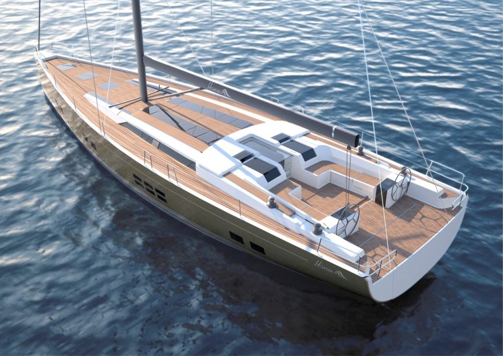 L'ammiraglia Hanse 675, evoluzione del fortunato 575