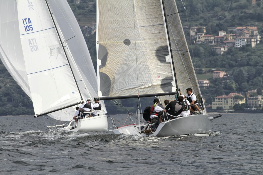 In regata sul Lario
