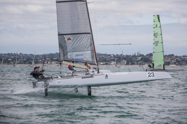 Cat A in foiling al Mondiale