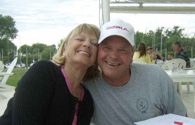 Hans Fogh con la moglie Kirsten
