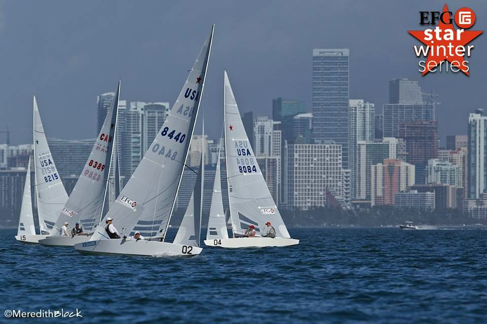 Star in regata a Miami