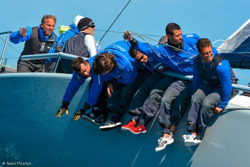 Adria Ferries in azione. Foto Proctor