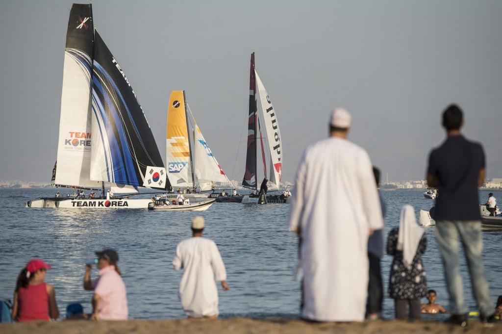 Le EXSS in Oman nel 2013. Foto VINCENT CURUTCHET / DARK FRAME / LLOYD IMAGES