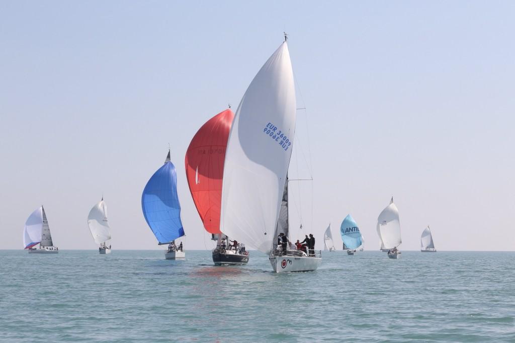 In regata a Caorle, Foto CNSM