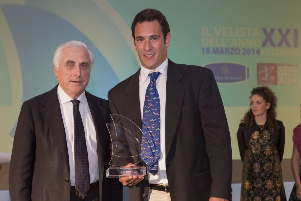 Simone Ferrarese, vincitore del Premio Carlo Marincovich Under 25