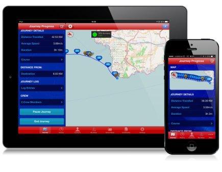 WaveTrax dell'inglese Riverlsle è stata progettata per rivoluzionare il modo del diporto per quanto riguarda al registrazione dei viaggi, dei dati e la condivisione delle proprie esperienze.