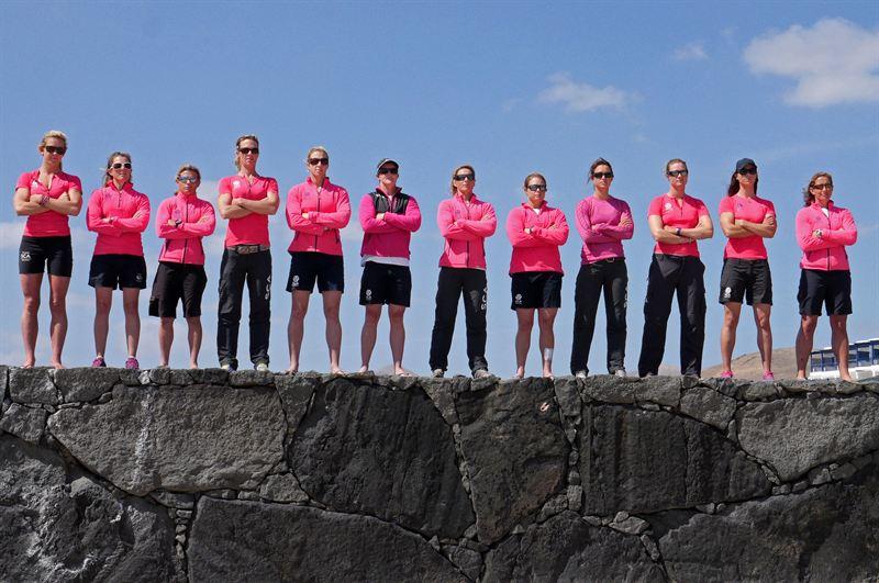 Team SCA a Lanzarote