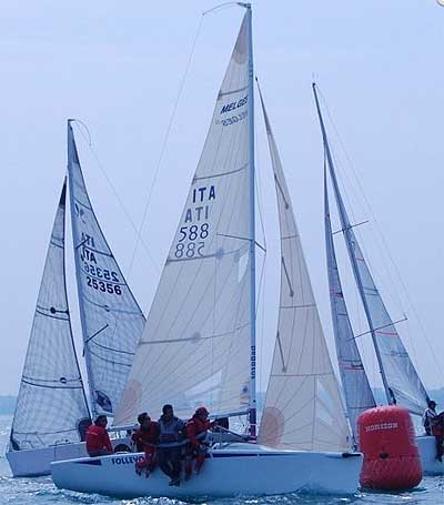 Minialtura in regata a Bari. Foto CUS Bari