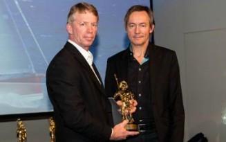Pascal Conq riceve il Nettuno d'oro, ambito riconoscimento per iol mondo della progettazione navale