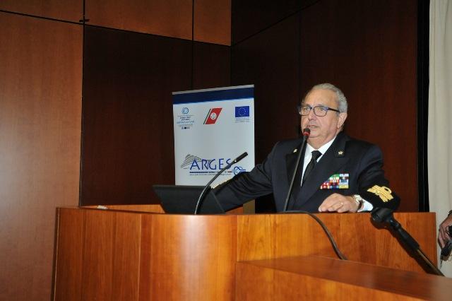 L'intervento dell'ammiraglio Felicio Angrisano, comandnate generale del Corpo delle Capitanerie di Porto