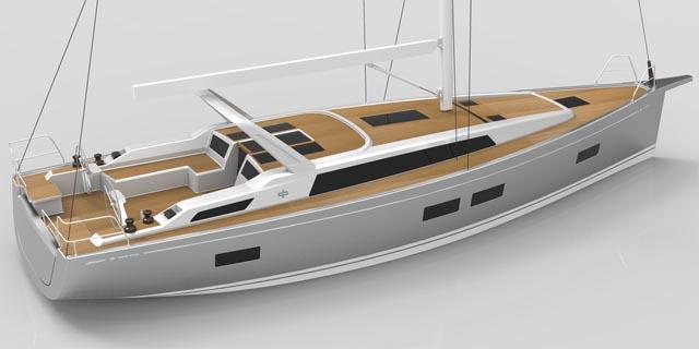 Il Grand Soleil 46 LC, Long Cruise, pensato per conquistare il mercato nordico dei Blue Water Cruiser...ma secondo lo stile e la qualità del Made in Italy