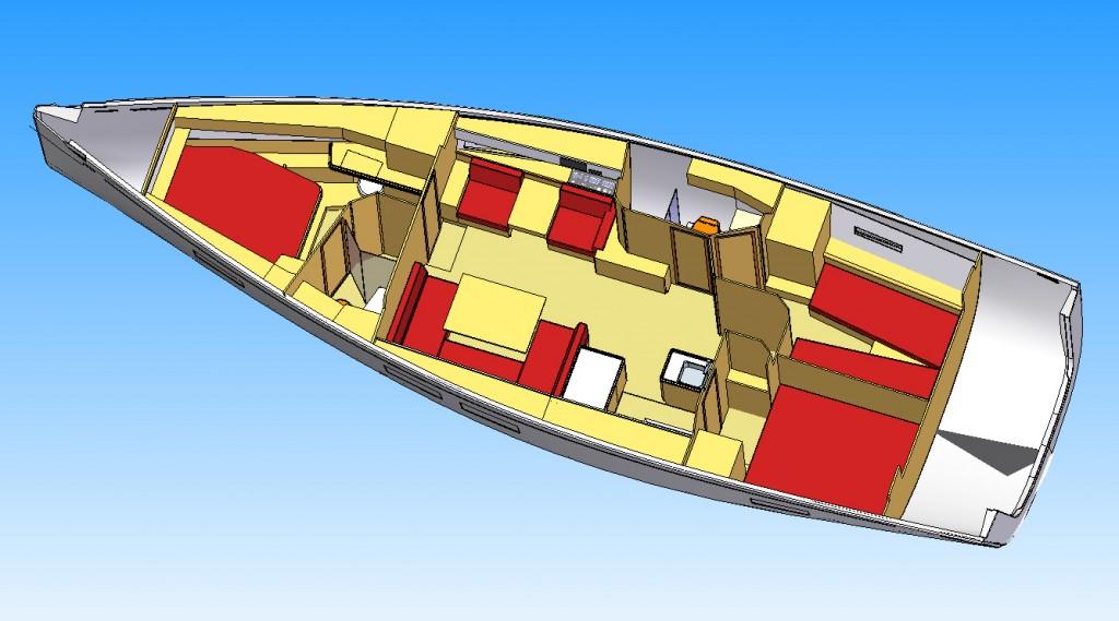 GS46LC interior 3D 3