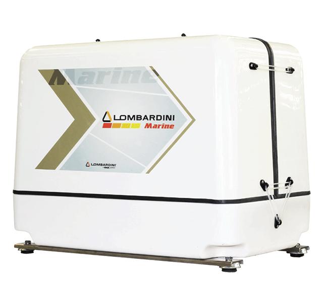 Il gruppo elettrogeno LMG 9000 equipaggiato con la serie di motori FOCS caratterizzati da bassa rumorosità, assenza di vibrazioni e dimensioni contenute.