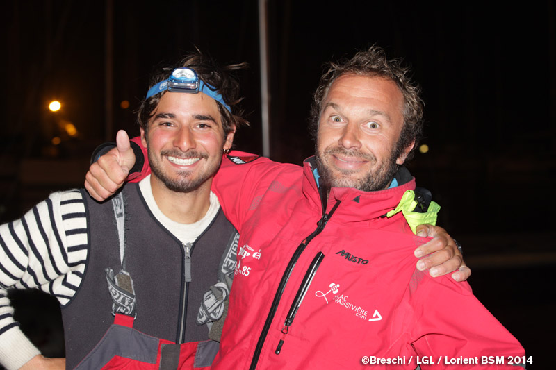 Michele Zambelli e Aymeric Chappellier. Foto Breschi