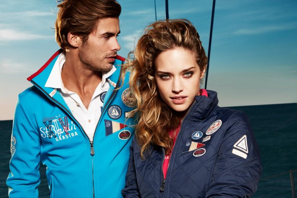 La collezione Gaastra, eccellenza nel lifestyle, propone caopi d'abbigliamento dai colori accesi e legati al mondo della nautica
