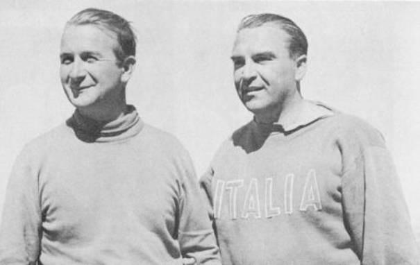 Agostino Straulino cn Nico Rode, prodiere delle vittorie olimpiche in Star