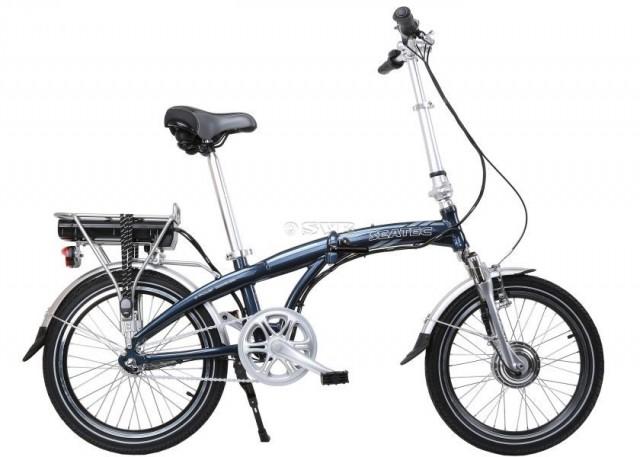 Blizzard è la bicicletta pieghevole della Seatec dotata di motore elettrico di 250W
