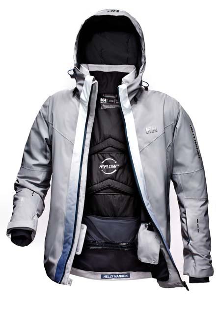 La giacca Spectrum, vincitrice dell'ambito premio Red Dot Design Award