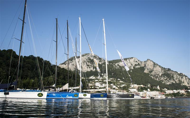 Maxi a Capri. Foto Arrigo/Rolex