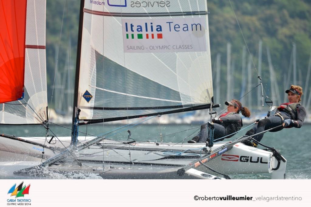 Vittorio BIssaro e Silvia Sicouri, ancora vincenti sul Garda. Foto Vuilleumier