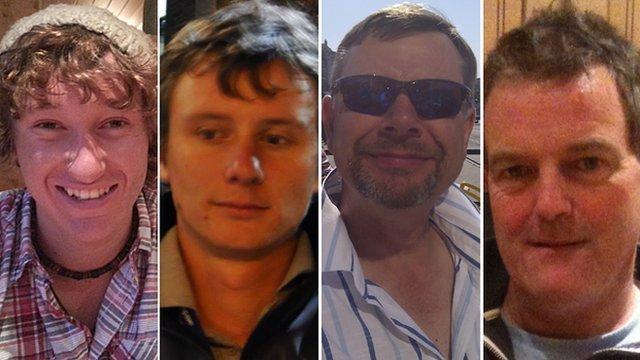I quattro velisti dispersi