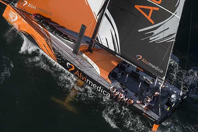 Alvimedica, il VO65 con sponsor italiano. Foto Martin Raget