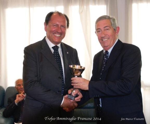 La premiazione di Brusco. Foto Trainotti