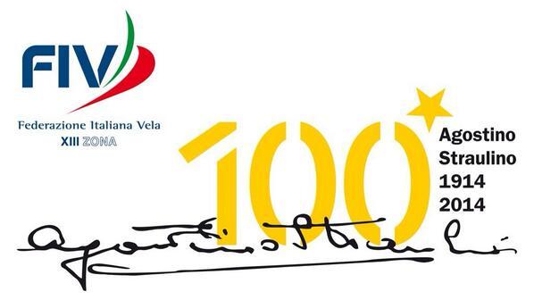 Il bel logo del centenario di Agostino Straulino