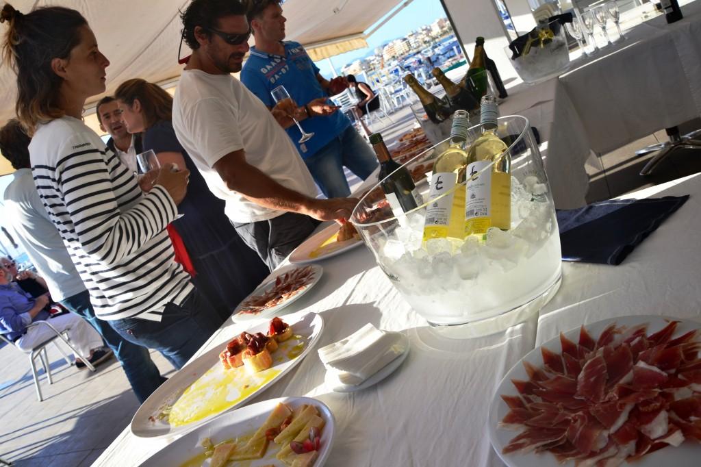 Il cocktail party offerto da Lagoon che a Maiorca ha festeggiato i suoi 30 anni di attività