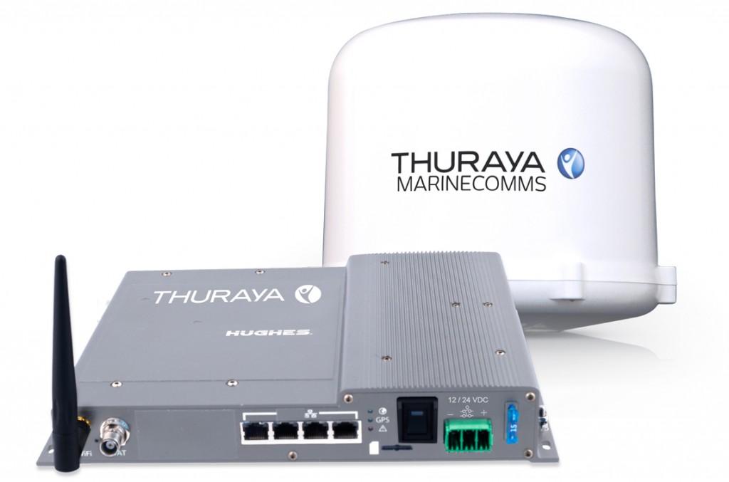 Thuraya Orion IP è un modem satellitare Plug&Play che supporta le comunicazioni dati fino a 444 kbps. Prezzo: 4.550 euro