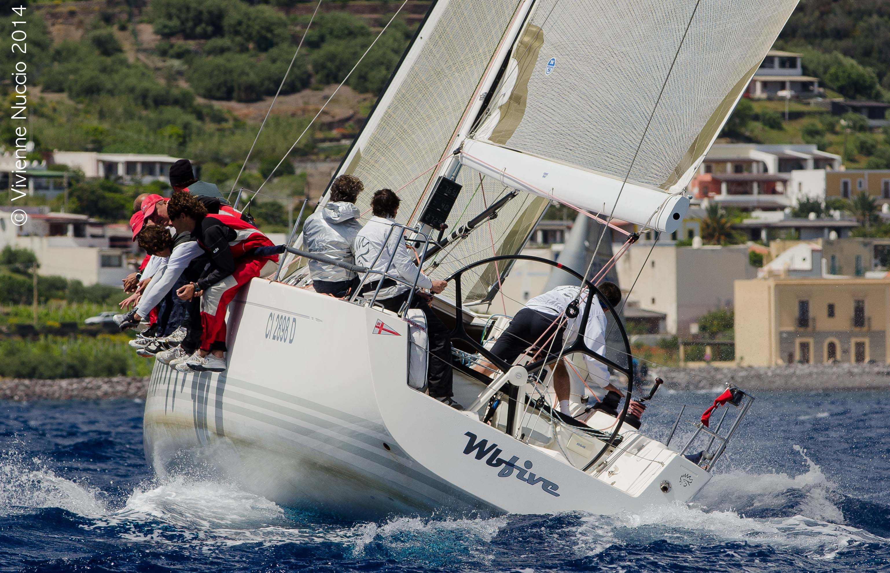 L'X41 Wbfive vincitore a Salina. Foto Nuccio