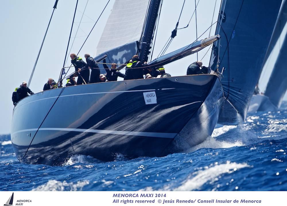 Lioneheart, vincitore tra i J Class. Foto Renedo/Consell Insular de Menorca