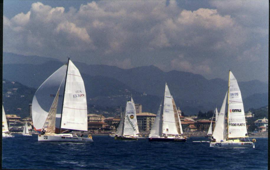Un'immagine di repertorio della partenza della Corsica x 2