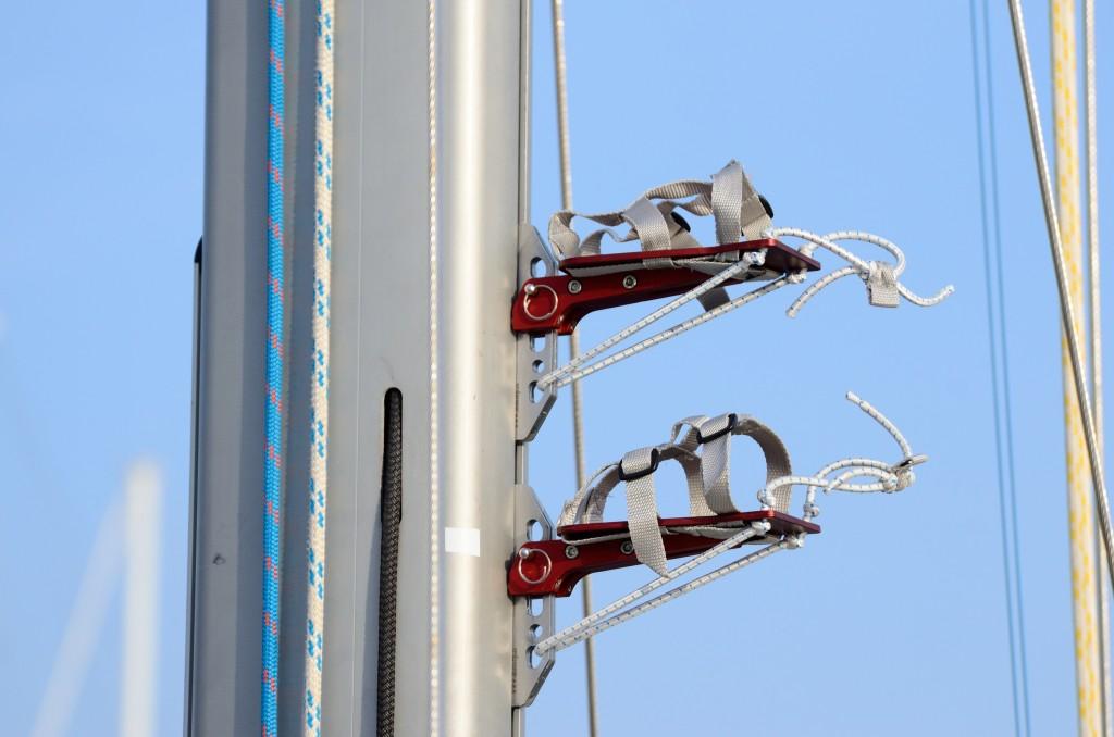 MaSTeP di Andrea Lusso è un dispositivo innovativo ideato per salire in testa d'albero in completa autonomia