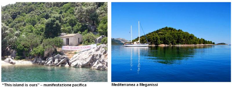 Mediterranea a Meganisi