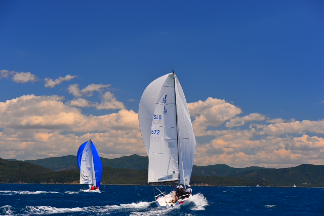 J70 a Marina dfi Scarlino. Foto Barducci