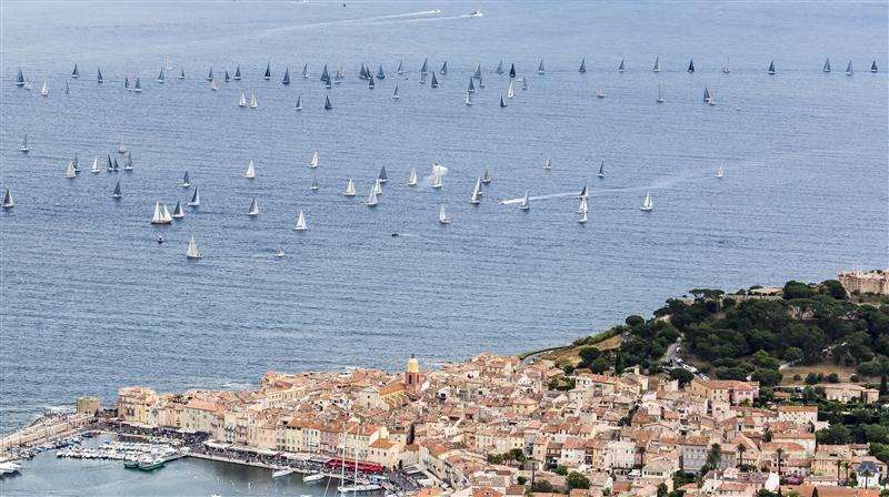Saint Tropez nei giorni della Giraglia Rolex Cup. Foto Borlenghi/Rolex